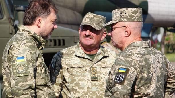 Хомчак, Загороднюк і Кравченко навідалися на передову
