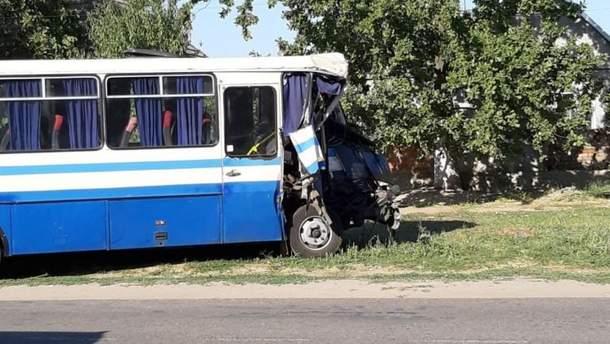 ДТП на Одещині: у селі Шабо зіткнулися маршрутки - 19 постраждалих