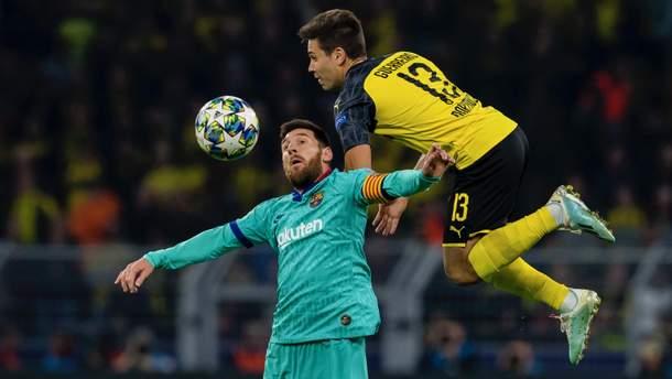 """""""Боруссія"""" та """"Барселона"""" не зуміли виявити сильнішого у першому матчі Ліги чемпіонів: відео"""