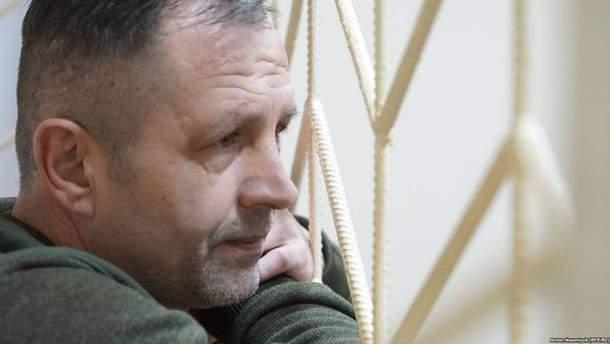Звільнений політв'язень Володимир Балух