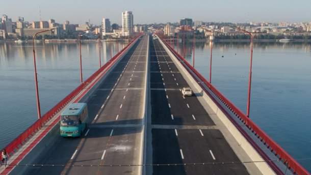 Відремонтований Центральний міст Дніпра
