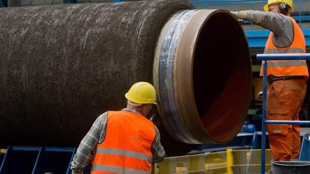 """""""Газпром"""" снова будет зависеть от украинской газовой трубы"""