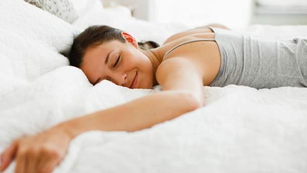 Корисні поради: як спати, щоб схуднути?