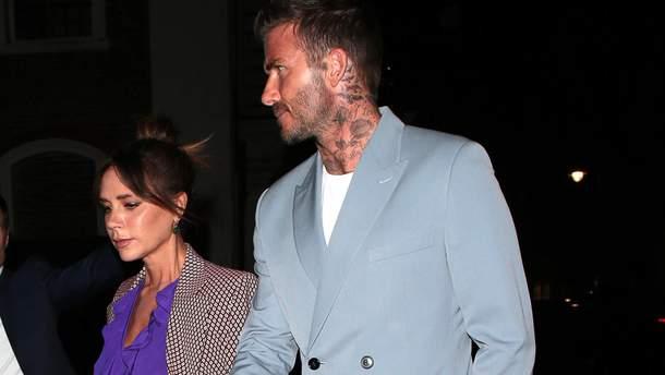 Ідеальний вихід найстильнішої пари: Вікторія і Девід Бекхем засвітилися на вечері в Лондоні