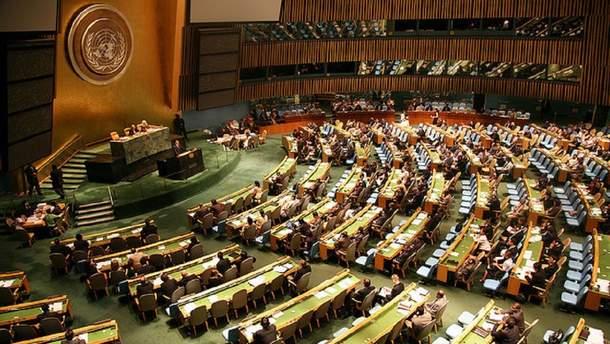 Генасамблея ООН включила до порядку денного ситуацію на окупованих територіях України