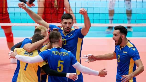 Збірна України перемогла Чорногорію