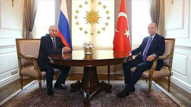 Путін вкотре зганьбився на зустрічі з Ердоганом (відео)