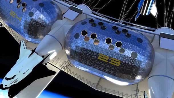 На орбите Земли откроют космический отель