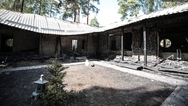 Дом Гонтаревой в Гореничах намеренно подожгли