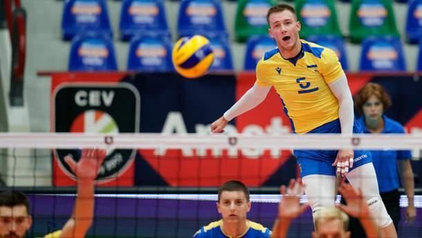 Сборная Украины победила Эстонию