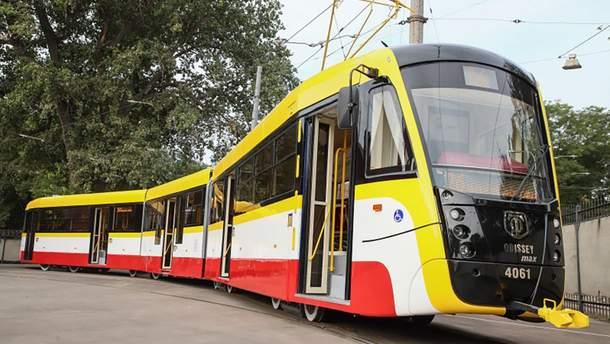 Самый длинный трамвай в Украине