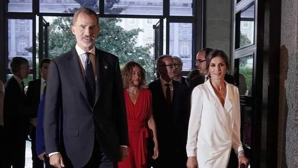 Потрясающий выход королевы Испании