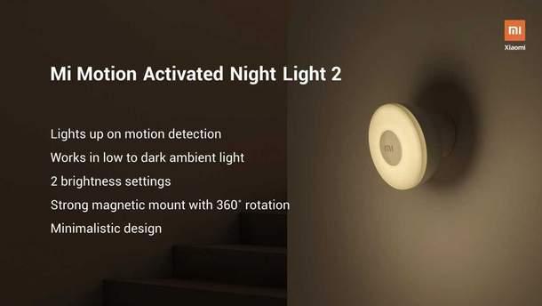 Xiaomi выпустила умный светильник