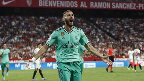 """""""Реал"""" у важкому матчі обіграв """"Севілью"""" і вийшов на друге місце в Ла Лізі: відео"""