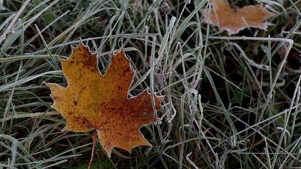 В Україну йдуть заморозки: де буде найхолодніше