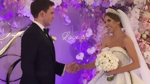 Українська співачка відгуляла розкішне весілля (фото, відео)