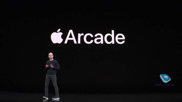 Ігровий сервіс Apple Arcade вже працює