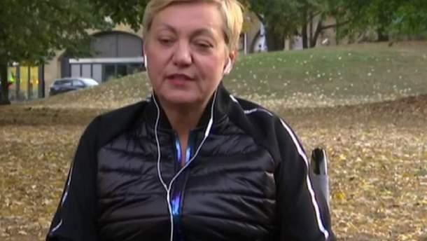 """Сором, що в Раді є такі """"мразі"""", – Гонтарева у візку висловилася про Дубінського"""
