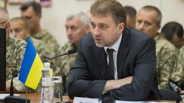 Міністр оборони прокоментував зв'язки із Зеленським та Коломойським