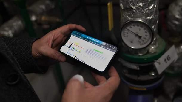 Опалення  можна регулювати через смартфон