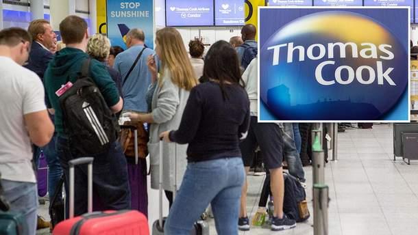 Туристів збанкрутілої Thomas Cook повернуть додому