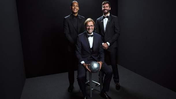 Алісон найкращий воротар, Рапіно – футболістка: усі переможці The Best FIFA Football Awards