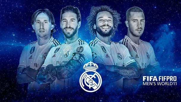 """Трійка з """"Реалу"""" та Роналду: хто несправедливо потрапив до символічної збірної ФІФА"""