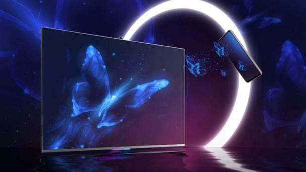 """В мережі з'явилися перші живі фото """"розумного"""" телевізора Honor Vision"""
