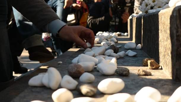 Кияни вшановують пам'ять невинно розстріляних у Бабиному Яру