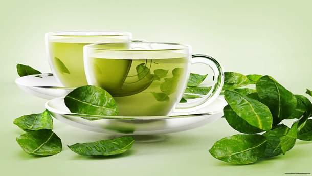 Зелений чай містить сполуки, які борються з бактеріями