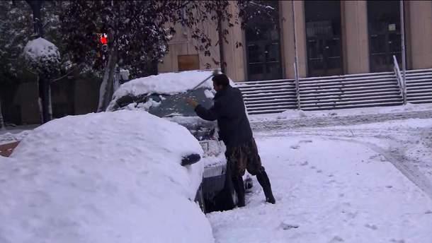 У США випала аномальна кількість снігу