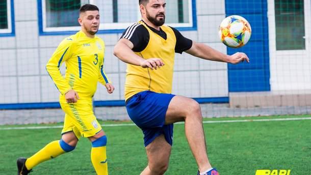 У Києві відбувся перший турнір з мініфутболу серед спортивних журналістів Parimatch media cup