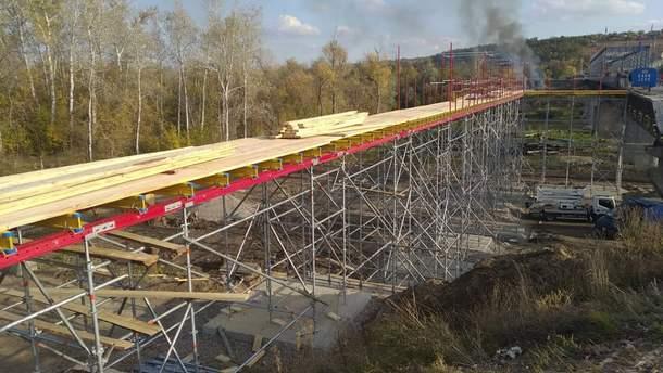 Обходной мост возле Станицы Луганской
