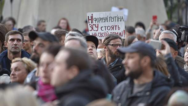 Против формулы Штайнмайера выступают 23% украинцев