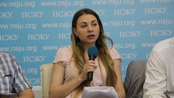 """Аналітикиня Фонду """"Демократичні ініціативи"""" Марія Золкіна"""