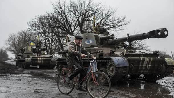 Разведение войск на Донбассе будет происходить поэтапно
