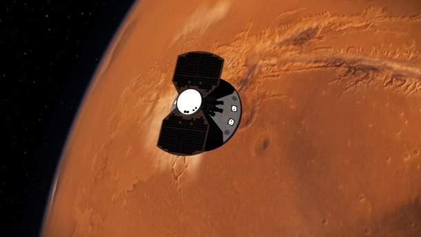 Сейсмическая активность на Марсе