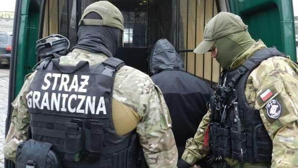 Польские пограничники задержали преступника из Украины