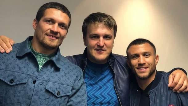 Усик и Ломаченко посетят бой Гвоздика против Бетербиева