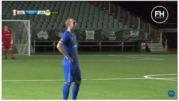 Сборная Украины проиграла Румынии на чемпионате мира по минифутболу