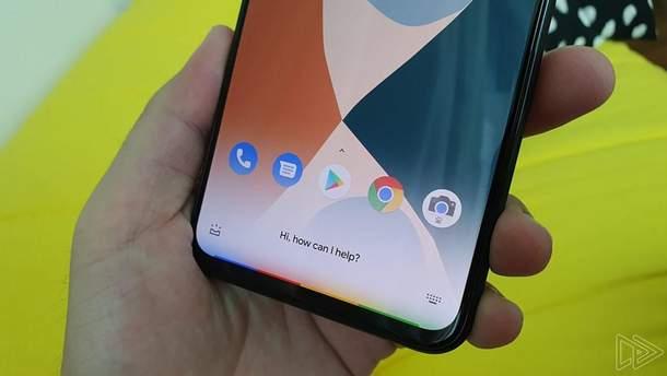 Как работает управление жестами на смартфоне Google Pixel 4