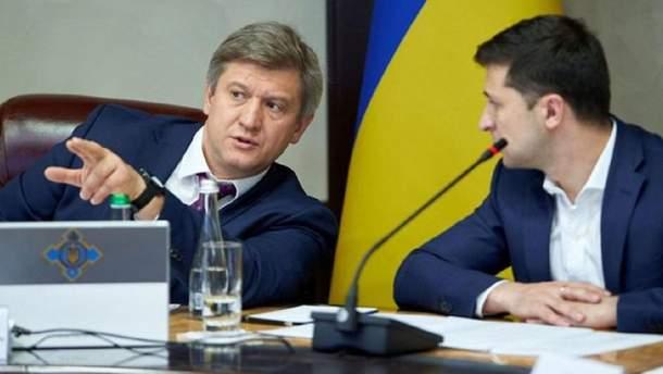 Данилюк заявил о конфликте интересов главы ОПУ Богдана