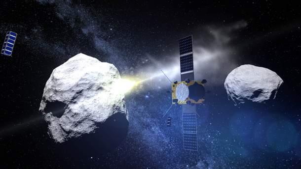 Земля столкнулась в гигантским астероидом