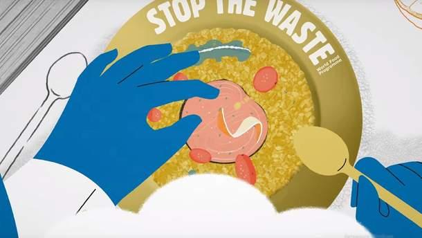 ООН запустила кампанію StopTheWaste для боротьби з харчовими відходами