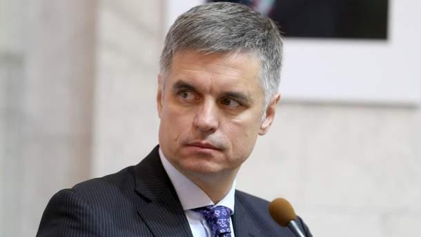 Вадим Пристайко – министр иностранных дел Украины