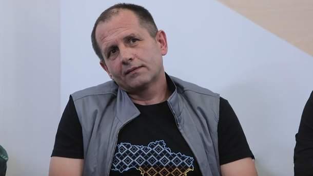 Балух рассказал, как троллил оккупантов украинским флагом