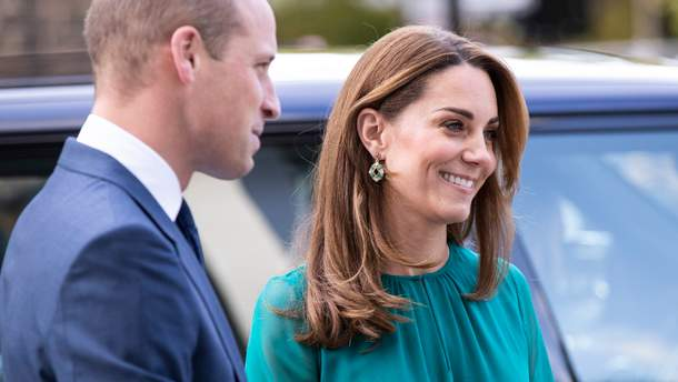 Кейт Миддлтон и принц Вильям