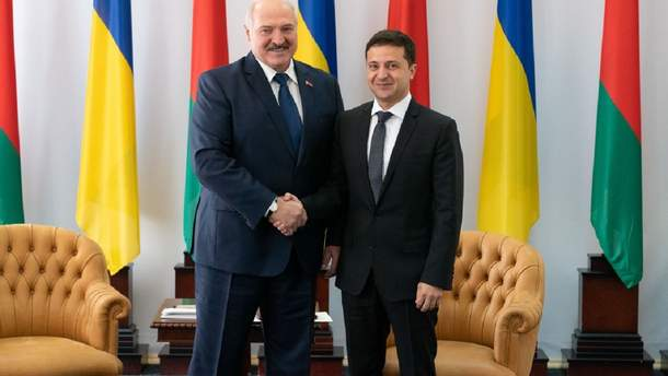 Лукашенко пообіцяв Зеленському, що Україна ніколи не матиме проблем з боку білоруського кордону