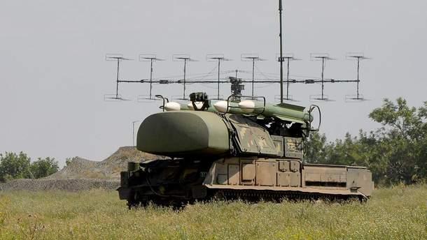 Учения в подразделениях зенитных ракетных войск Воздушных Сил ВСУ