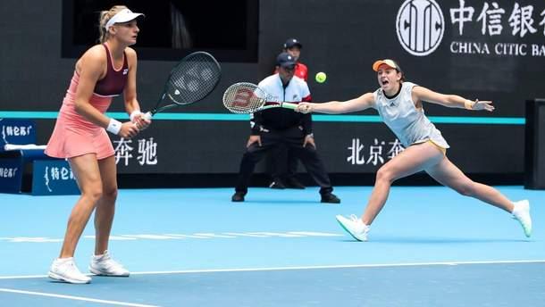 Ястремская в паре с Остапенко в драматичном матче проиграла финал в Пекине